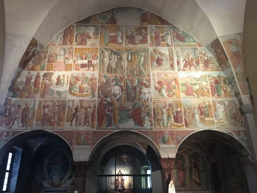 Convento dell'Annunciata, terza tappa Via Valeriana