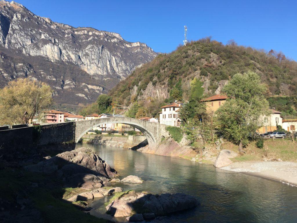 Ponte di Montecchio, tappa 2 Via Valeriana