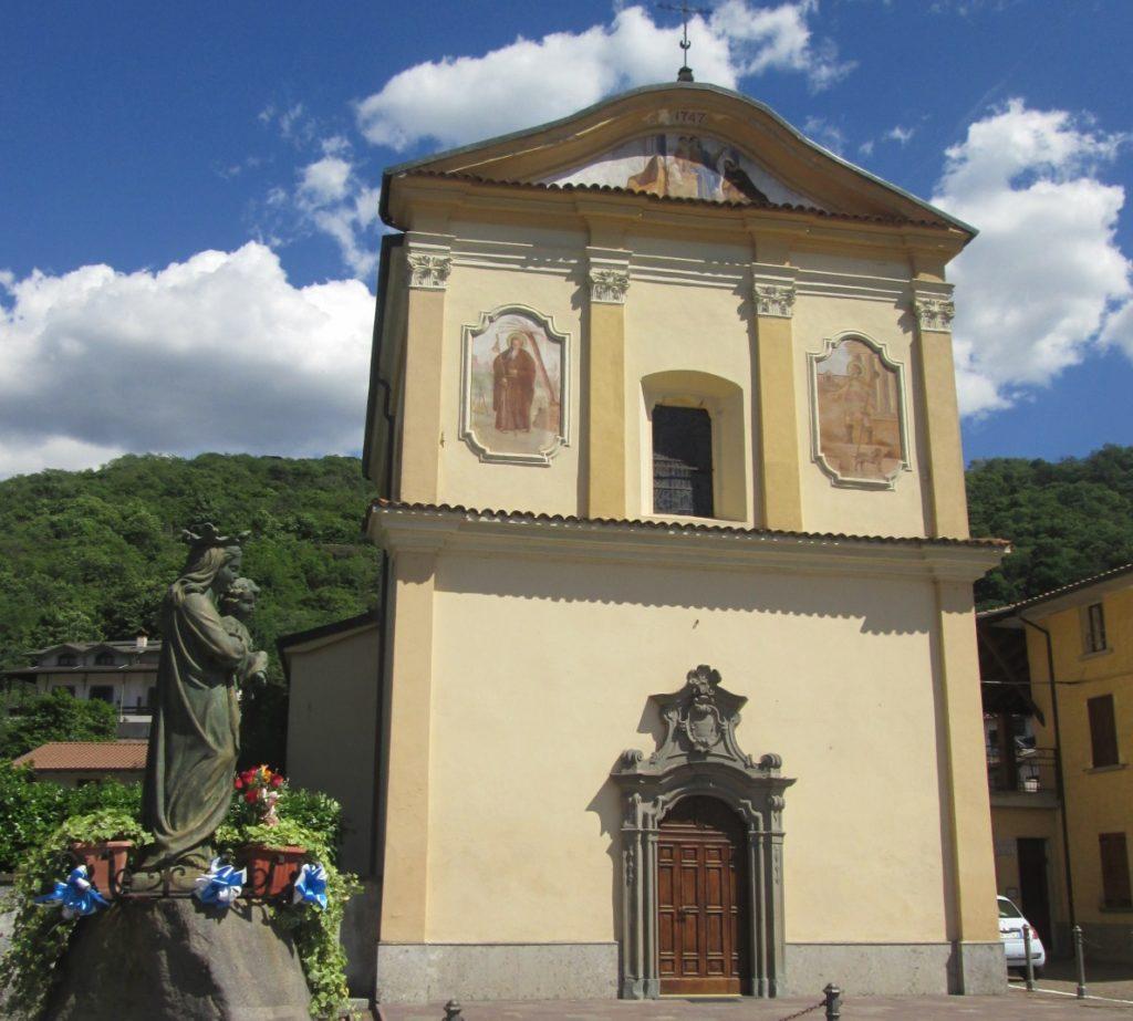 Chiesa Parrocchiale della Beata, tappa 2 Via Valeriana