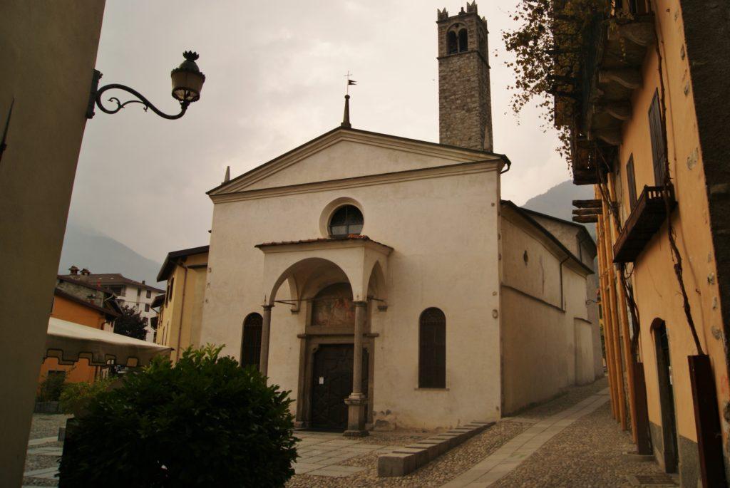Edolo, Chiesa di San Giovanni Battista, tappa 6 Via Valeriana