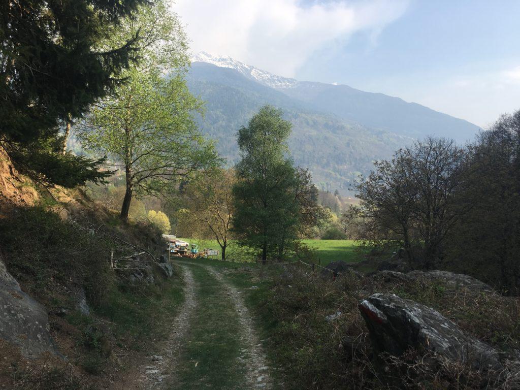 Località Sant'Andrea, tappa 6 Via Valeriana