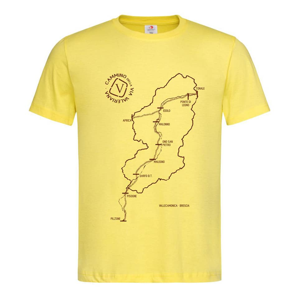 maglietta Via Valeriana